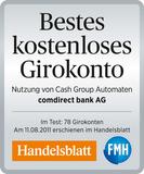Comdirect Auszeichnung Handelsblatt